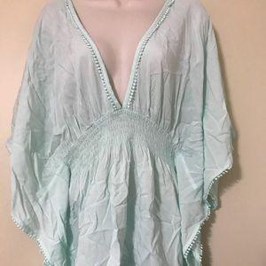 Mint Green Victoria's Secret Shirt Size XL